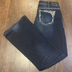 Silver Jeans Tuesday Dark Wash Boot Cut 33 x 33